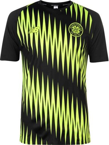 3d4eadff6bee New Balance Celtic Pre Match Jersey Mens Black - Glami.sk