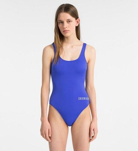 Jednodílné plavky KW0KW00269-414 modrá Calvin Klein - Glami.cz a1db6032b8