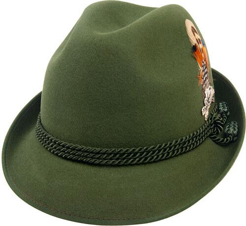 140b232759d Tonak Myslivecký klobouk zelená (P0250) 61 14883ZH - Glami.cz