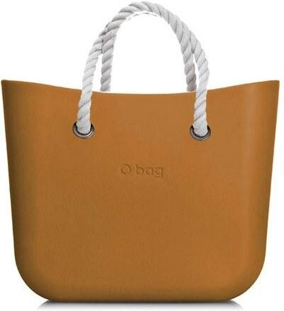 O bag kabelka MINI Narcis s bílými krátkými provazy - Glami.cz ae21e05282b