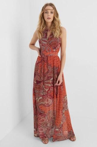 ORSAY Dlouhé šaty s exotickým vzorem - Glami.cz 017f2dd9757