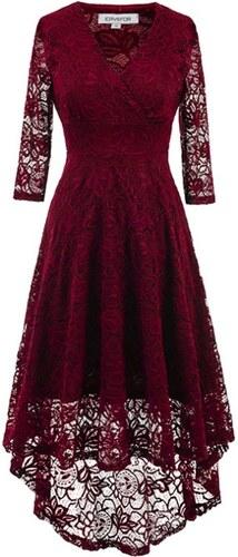 Dámské společenské šaty Yaroda červené - červená c7f1795512