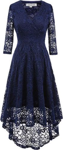 Dámské společenské šaty Yaroda modré - modrá - Glami.cz 37c6245ff6