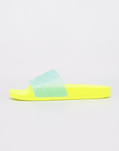 2ce7045ec7b17 -28% adidas Originals Adilette Lilo Solar Yellow  Clear Aqua  Solar Yellow