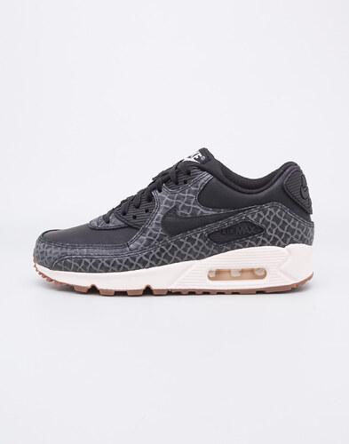 -40% Nike Air Max 90 Premium Black   Black - Sail - Gum Medium Brown 38c66d1aaa