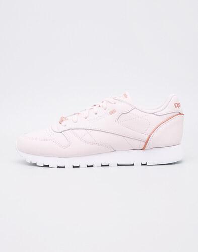 1d9510a0b70ce Reebok Classic Leather HW Pale Pink   White   Rose Gold - Glami.cz