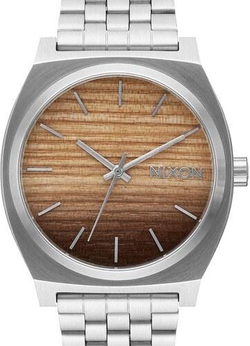 Hodinky Nixon Time Teller Wood Silver A0452457 - Glami.cz cc71cc95749