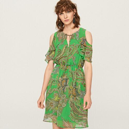 a94ab03b6f Reserved - Mintás ruha - Zöld - Glami.hu