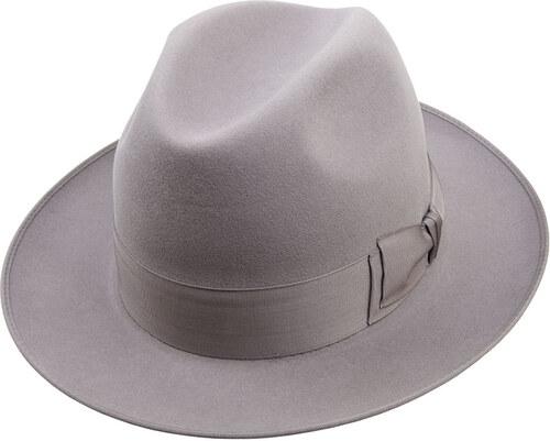 7a84749cb Tonak Luxusní plstěný klobouk šedá (Q8011) 60 10367/07TE - Glami.cz