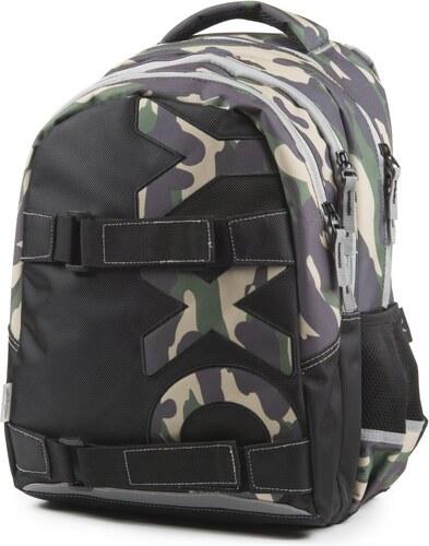 KARTON P+P Studentský batoh OXY One Army 7-69918 - Glami.cz e0db5f3ba7