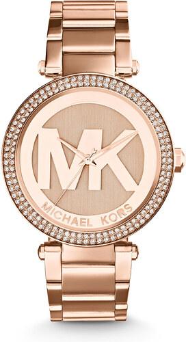 Hodinky MICHAEL KORS - Parker MK5865 Rose Gold Rose Gold - Glami.cz deed972a531