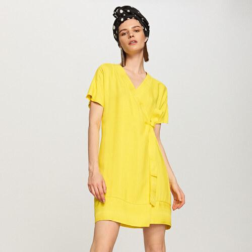 6a13b82a46 Reserved - Aranyszínű ruha - Sárga - Glami.hu