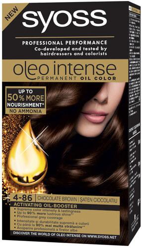 Syoss Oleo Vopsea De Par Color Oleo Intense 4 86 Saten Ciocolatiu