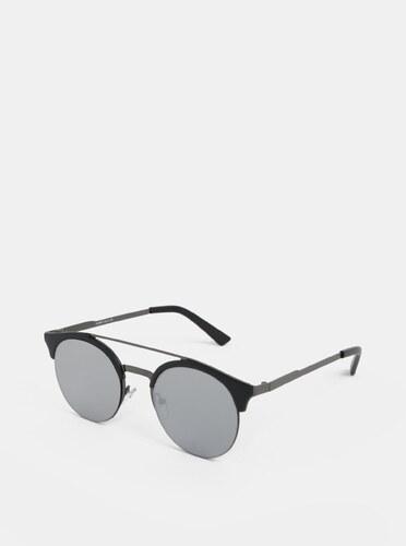 Čierne okrúhle slnečné okuliare ONLY   SONS Display - Glami.sk fe0351a6bb0