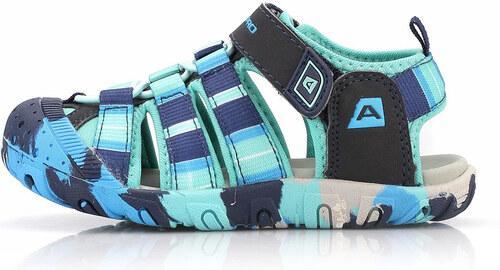 28c72f72a32 Dětská letní obuv Alpine Pro JIM - tyrkysová - Glami.cz
