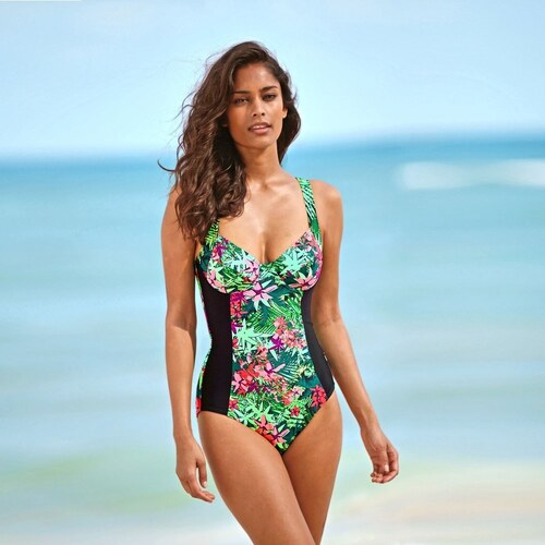 Blancheporte Jednodielne plavky džungľa edb2a5fe04