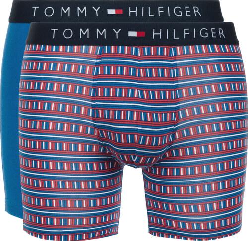 Férfi Tommy Hilfiger 2 db-os Boxeralsó szett Kék Piros - Glami.hu 4d99c689e7