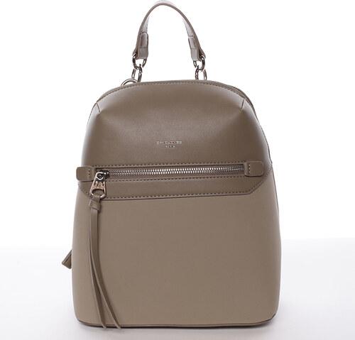 Originálny mestský batoh khaki - David Jones Ryia Khaki - Glami.sk c582f46c01