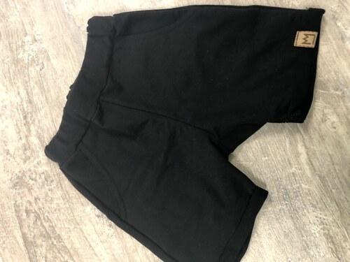 6163046c9c8c BY MIMI Chlapčenské krátke pudlové nohavice MIMI 702 čierne - Glami.sk
