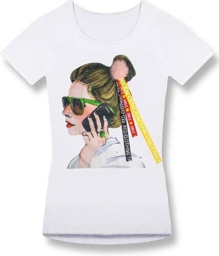 67aba93b97 MODOVO Női póló 0297 fehér - Glami.hu