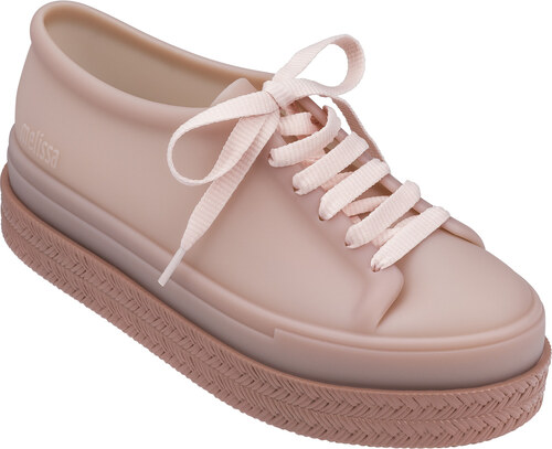 Melissa púdrové tenisky na platforme Be II Pink - Glami.sk 0a81c510254