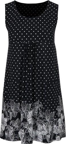 976e95865edb Tmavomodré vzorované šaty s vreckami Ulla Popken - Glami.sk