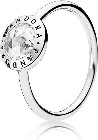 Pandora Stříbrný prsten s kamínkem 191029CZ - Glami.cz 908f1e6e06c