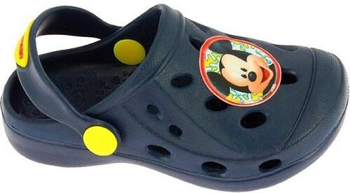 7ec1337d9c0e Disney by Arnetta Chlapčenské gumové sandále Mickey Mouse - modré ...