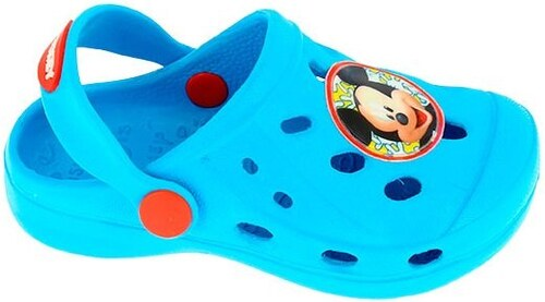 81c5ea97e126 Disney by Arnetta Chlapčenské gumové sandále Mickey Mouse - svetlo modré