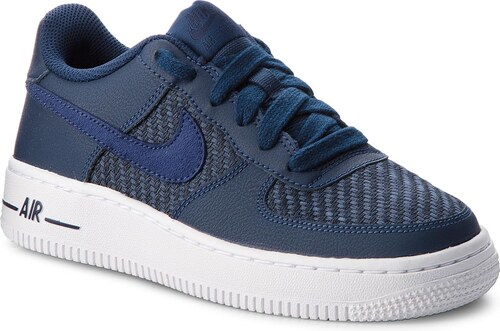 Boty NIKE - Air Force 1 Lv8 (GS) 820438 406 Navy Navy Midnight Navy White 97a734eb93
