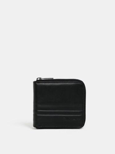 dd65b0b1dd Čierna pánska kožená peňaženka Calvin Klein Jeans - Glami.sk