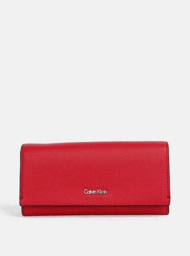 7bf18052572a Červená dámska peňaženka Calvin Klein Jeans - Glami.sk