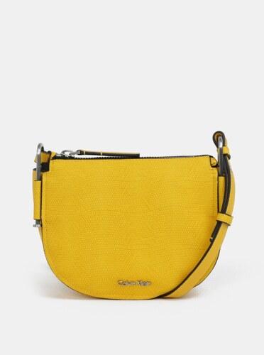 7b7489bf69 Žltá crossbody kabelka Calvin Klein Jeans - Glami.sk