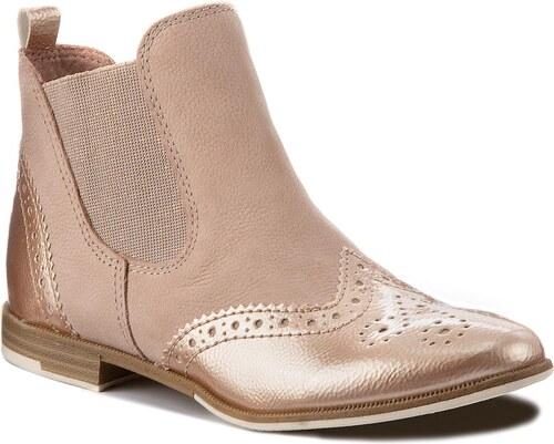 Kotníková obuv s elastickým prvkem MARCO TOZZI - 2-25307-20 Rose Comb 596 6fd9f703fa
