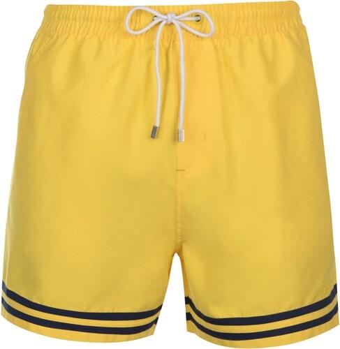57c0903341c Kraťasy koupací pánské Pierre Cardin Stripe Yellow - Glami.cz