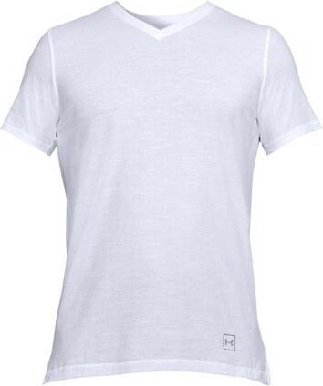 Pánské tričko Under Armour Sportstyle Core V-Neck T-Shirt-100-LG ... 85f0f3ba769