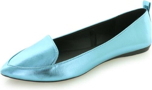 Comfy Modré balerínky Brendie - Glami.sk a3b0da019a0