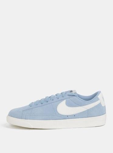 1d257a95d76 Světle modré dámské semišové tenisky Nike Blazer Low - Glami.cz