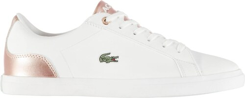 Lacoste Lerond Trainers White Pink 998193 - Glami.cz 785ec81a52