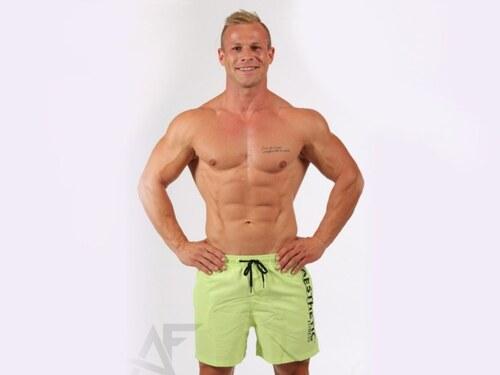 Aesthetic Fitness - Šortkové plavky zeleno - čierne - Glami.sk 09710bf6da