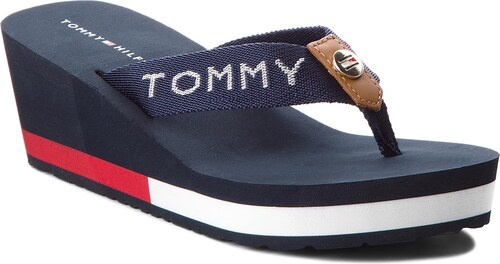 743b1d56199 Žabky TOMMY HILFIGER - Corporate Beach Sandal FW0FW02958 Midnight ...