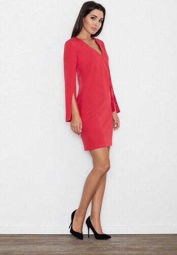 7d2436bc7dcf FIGL Dámske červené šaty M550 - Glami.sk
