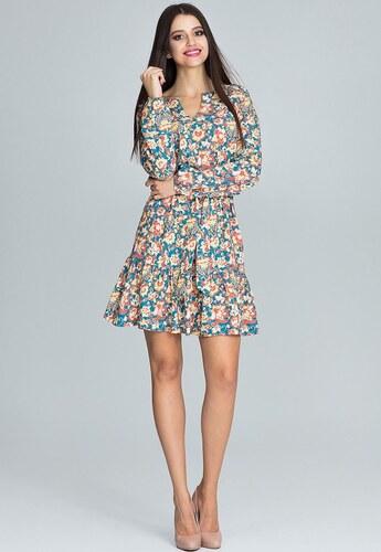 52f68988c285 FIGL Letné šaty s potlačou M597 - Glami.sk
