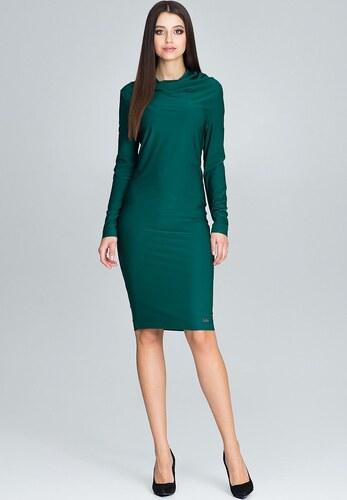 32fb7234293f FIGL Elegantné zelené šaty M603 - Glami.sk
