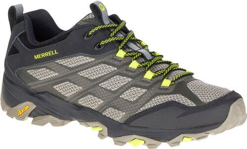 Merrell Moab FST Walking Shoes Olive Black - Glami.cz 1e3d3e6548d