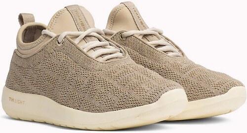 -5% Nové Tommy Hilfiger béžové tenisky Light Weight Slip On Sneaker  Cobblestone - 38 e6a4a15fccd