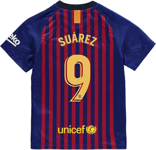 Nike Barcelona Lionel Messi Home Shirt 2018 2019 Junior Royal Blue ... caeb1e114