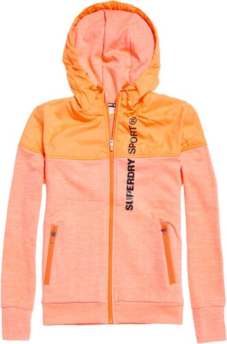 Orange De Coral Femme Sport Superdrysporthybridjacket 12 hot Veste Mhi Fabricant taille Superdry Medium xwXq6BA