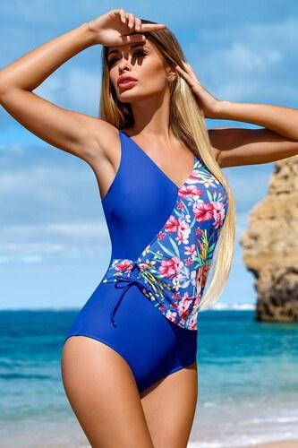 LORIN Flor egyrészes női fürdőruha kék - Glami.hu 9523ced116