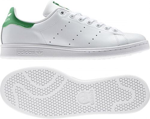 Pánske tenisky adidas Originals STAN SMITH (Biela   Zelená) - Glami.sk e9942423194